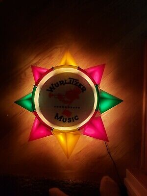 REPRODUCTION WURLITZER JUKEBOX TYPE 4002 LIGHT-UP WALL SPEAKER for sale  Shipping to South Africa