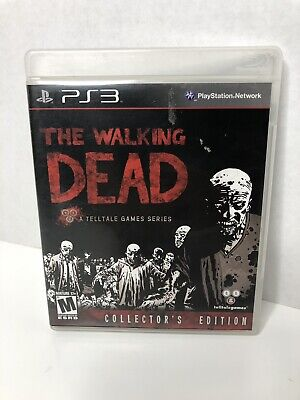 The Walking Dead Collectors Edition (Sony Playstation 3, PS3) GAME ONLY for sale  Shipping to Canada