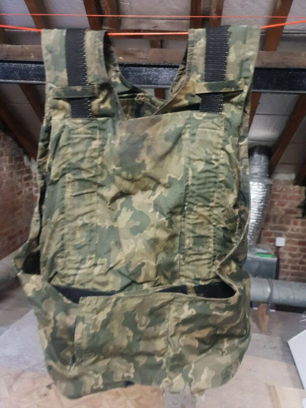 Russian SMK camo Body armor cover - used conditions - FSB MVD spetsnaz army