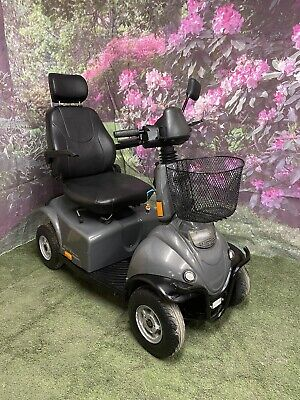 Large Scooter Will Go Anywhere! Mini Crosser 8mph Mobility Scooter All Terrain