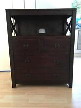 Balinese Style Solidwood TV unit Cremorne North Sydney Area Preview