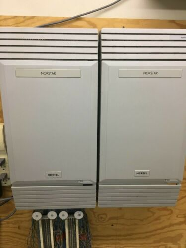 NORTEL MICS TELEPHONE SYSTEM WITH NAM APPLICATION MODULE VM