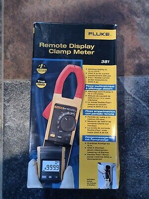 Fluke 381 Remote Display True Rms Acdc Clamp Meter With Iflex Brand New In Box