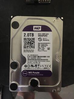 WD Purple Surveillance Hard Drive 2TB
