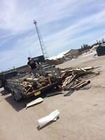 Fast junk removal and clean up  call now