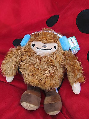 """Official Vancouver 2010 Winter Olympics Quatchi 13.5"""" Plush Mascot Teddy Stuffy for sale  Canada"""