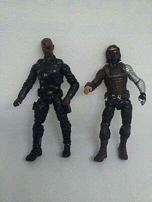 "Marvel legends universe Nick fury bucky winter solider avengers 3.75"" figure lot"