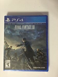 Final Fantasy 15 PS4 (not open)