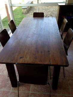 Solid Wood Dining Table East Lindfield Ku-ring-gai Area Preview
