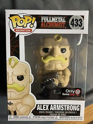 Funko Pop Animation: Full Metal Alchemist Alex Armstrong GameStop Exclusive #433