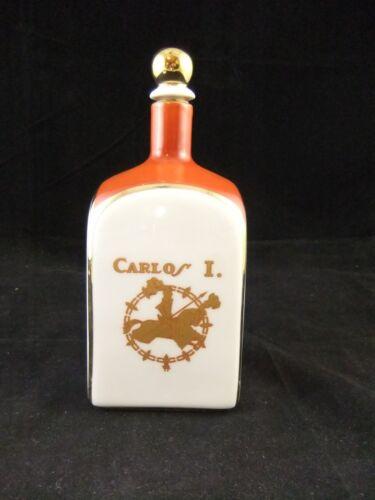 Vintage Pedro Domecq Jerez Carlos 1 Brandy in Bidasoa Bottle