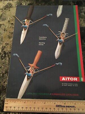 2002 Aitor Knives Catalog