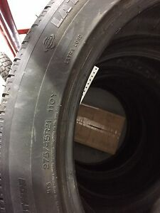 275/45r21 110y Michelin latitude 4 tires