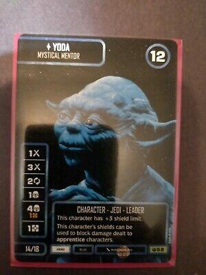 RARE Yoda, Mystical Mentor Promo from Star Wars Destiny Worlds 2019