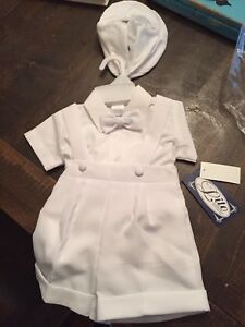 Boys 3-6 month Baptist's outfit
