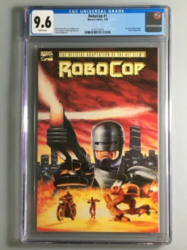 RoboCop 1 - CGC 9.6 - Official Movie Adaptation