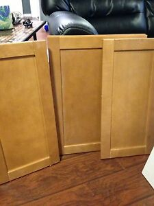 Lot of cabinet doors