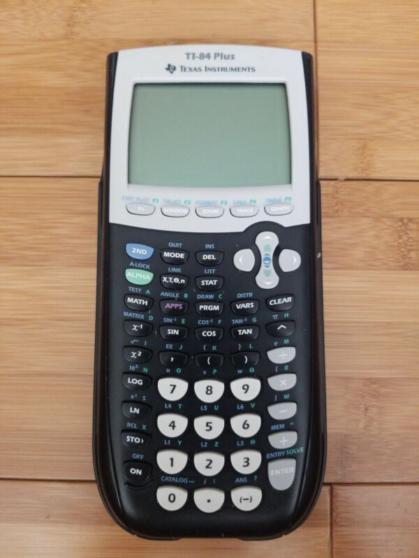 Texas Instruments TI-84 Plus Graphing Calculator w/ Cover