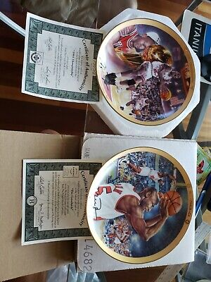 Michael Jordan Plate The Comeback and 1991 Championship The Bradford Exchange Up