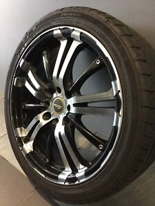 """PDW GHOST 17"""" ALLOY WHEELS AND TYRES TOYOTA HONDA NISSAN LANCER Carramar Fairfield Area Preview"""