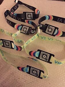 Everafter wristbands GA VIP and more