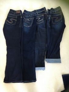 Womens Silver Jeans Size 30