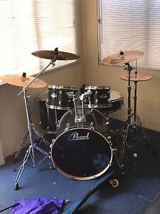 Pearl Export Drum Kit with Sabian B8 Cymbals Claremont Nedlands Area Preview