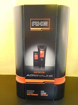 Axe Adrenaline Set 100ml Duft für den Mann + 200ml Bodywash in einer Blechdose