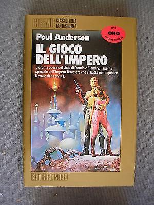 COSMO ORO - POUL ANDERSON - IL GIOCO DELL'IMPERO - NORD - OTTIMO - LIB38