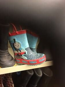 Rubber boots wanted  child size 4