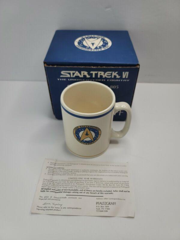 Star Trek VI Undiscovered Country Pfaltzgraff Coffee Mug 53-805