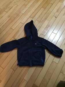 Boys size 2 Carters fleece spring jacket
