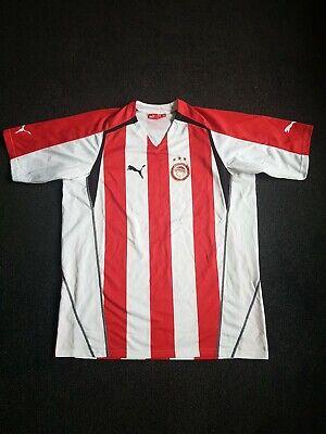 Olympiakos 2005-06 Official Home football Shirt Size Mens XXL VGC image
