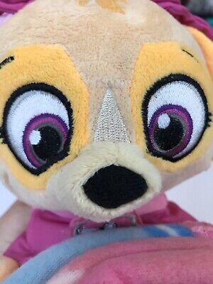 Paw Patrol Sweet Skye Kids Fleece Blanket Plush Toy Set Soft Machine Wash NEW