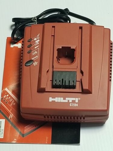 HILTI C7/24 Battery Charger BRAND NEW.