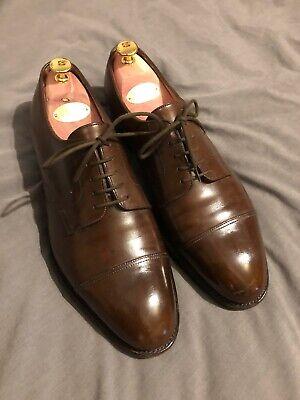 EXCELLENT! John Lobb Lopez Deran Brown Calf Leather Derby UK9 (RRP€1100)