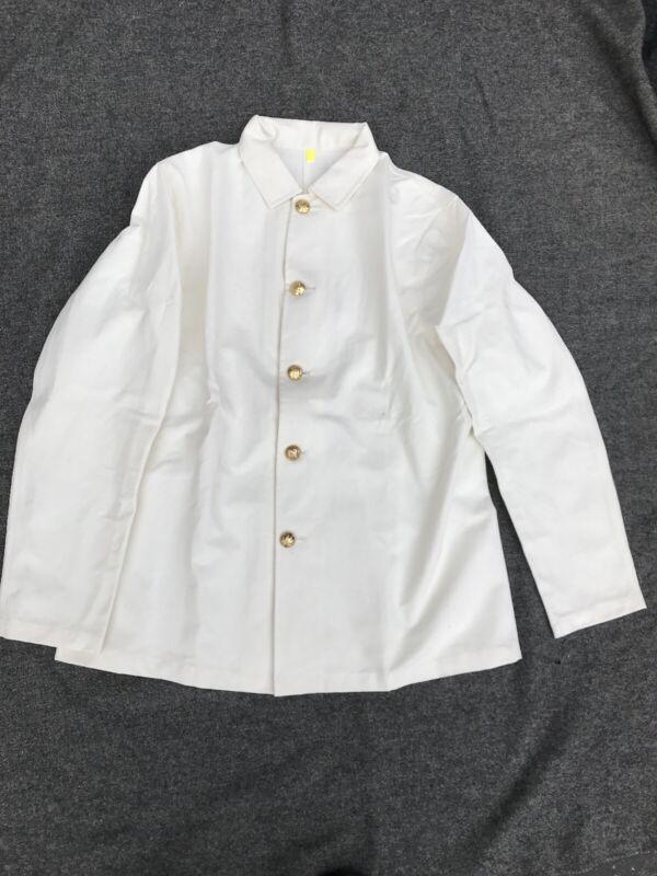 Reproduction M1889 White Duck Blouse Jacket Size 46
