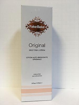 FAKE BAKE ORIGINAL SUNLESS SELF TAN TANNING LOTION - 6oz SEA