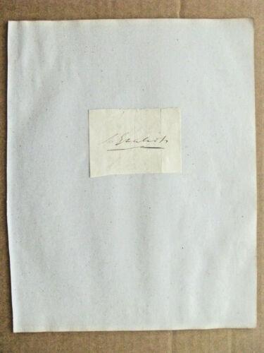 FUR TRADE NOTABLE CHARLES GRATIOT MICHIGAN TERRITORY  HERO WAR OF 1812 SIGNATURE