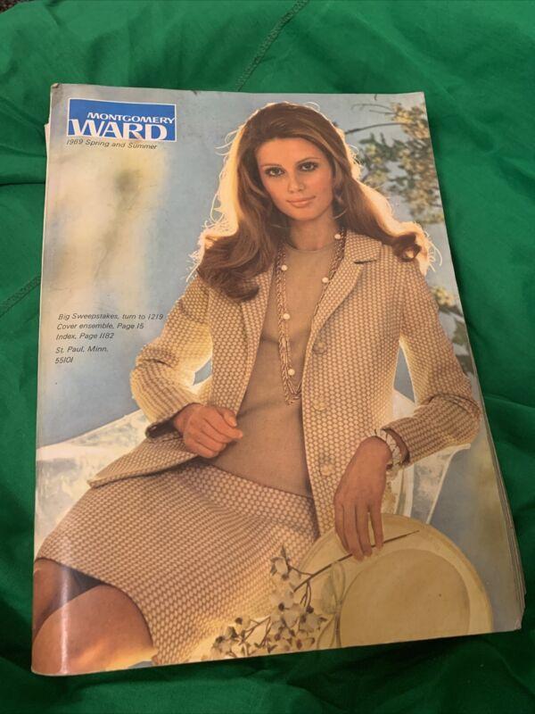 1969  Montgomery Ward Spring and Summer Catalog Fashion Clothe