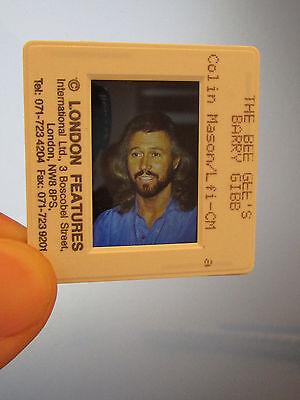 Original Press Promo Slide Negative - Bee Gees - Barry Gibb - 1990's