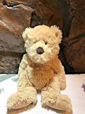 Ty Boris Teddy Bear 100% Silk Plush Stuffed Animal Beanie 12