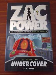 Zac Power Books 2- Good Condition - $4 each - See my other ADS Boronia Heights Logan Area Preview
