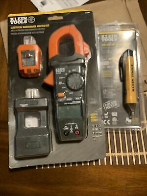 Klein Tools Electrical Maintenance And Test Kit And Non-contact Voltage Tester