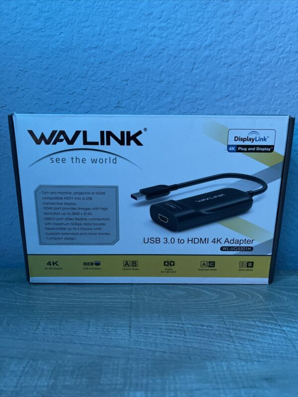 Wavlink USB 3.0 to HDMI 2K Adapter WL-UG3501H