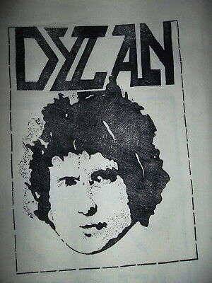 Dylan - Vintage t-shirt iron-on from the early 1970s - Over 40 yrs Old!