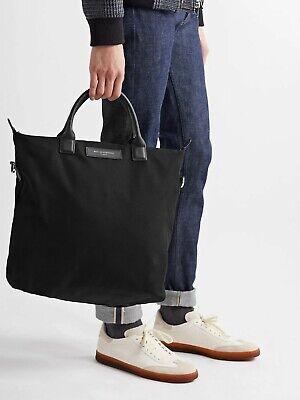Want Les Essentiels De La Vie - O'Hare Leather-Trimmed Cotton-Canvas Tote Bag
