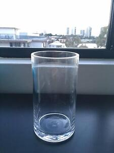Clear Cylinder Vase 9 x16cmH for Wedding Home Deco Meadowbank Ryde Area Preview
