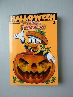 Walt Disney Lustiges Taschenbuch - LTB Erstauflage - Halloween 1 - TOP Zustand ()