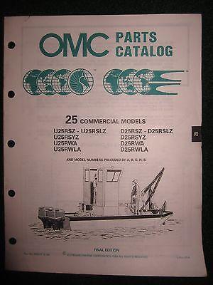 Catalog Manual 25 Hp Model